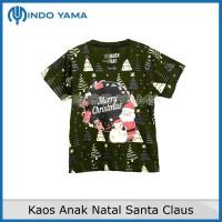 Kaos Anak Natal Santa Claus