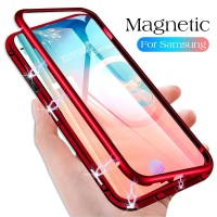 Case Samsung s8 s8 s9 s9 note 8 9 S7 magnetic Casing Magnetik