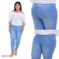 celana jeans legging jumbo size 39-42