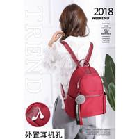 2367 2368 2369 Backpack Tas Ransel Punggung Wanita Cewek Impor Fashion