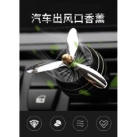 Parfum Mobil / Pengharum Mobil Baling-Baling LED / Kipas Parfum Mobil