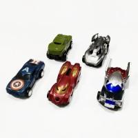 Set 5pcs Mobil Avengers Pullback Mainan Anak Laki-Laki