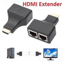 HDMI Extender 30M Over Dual Kabel LAN RJ45 - Extender HDMI