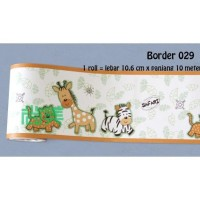 PROMO BORDER 029 WALLSTICKER STIKER DINDING UK 10CM X 10 METER