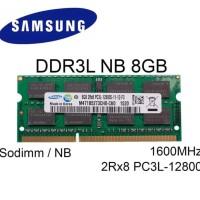PROMO MEMORY SAMSUNG SODIMM NB DDR3L 8GB DDR3 8 GB PC12800 1600MHZ