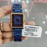 Jam Tangan Cewek Alexander Christie Original Blue Rosegold AC2660 (2.3