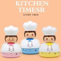 Terbaru Kitchen Timer Alarm analog Gadget Bell waktu makanan Timer