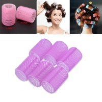 Terbaik 6Pcs / Set Roller Pengeriting Rambut DIY Ukuran Besar Warna