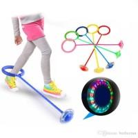 Promo Mainan Olahraga Anak Dewasa Lompat LED Ring Skip It Ball