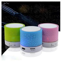 Terbaik Speaker Wireless Bluetooth Portable+Lampu Tidur LED Motif
