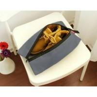 Promo Tas sepatu cover sarung sepatu travelling shoe bag