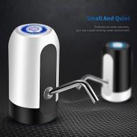 Promo Pompa Galon Air Minum Elektrik LED Wireless USB Recharger