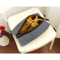 Promo tas sepatu cover sarung sepatu traveling polos waterproof