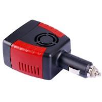 Promo Adapter Compact Car Inverter 150W 220V ACDC EU Plug 5V 1 USB