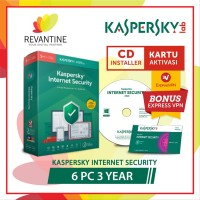 Antivirus Kaspersky Internet Security 6 PC 3 Tahun elektronik