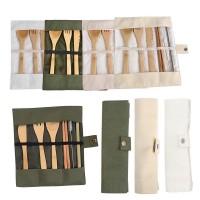 Terlaris Peralatan makan bambu mengatur tas tebal Jepang