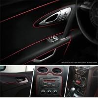 Promo Trim Strip Celah Interior Dekorasi Colour Debu Mobil 5 Meter