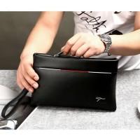 Promo Yues Kangaroo Dompet Tas Genggam Pria Handbag Tenteng Premium