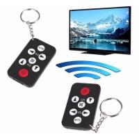 Promo Gantungan Kunci Remote Control Mini TV Infrared Keychain