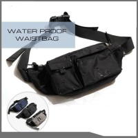 WAIST BAG WATERPROOF / WAISTBAG PRIA / TAS PINGGANG DISTRO ANTI AIR