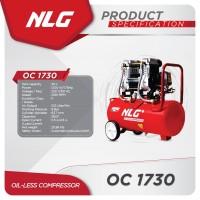 Compressor Kompresor Oilless Oil Less 1,75HP NLG OC-1730 Direct Silent