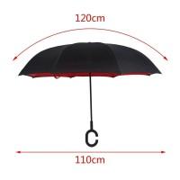 Payung Terbalik Ukuran Besar 2 lapisan Zeroplus