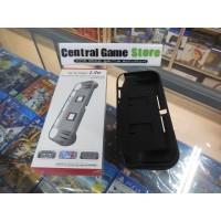 Switch Lite TPU Protector+Game Card Storage Slots & Hand Grip - Black