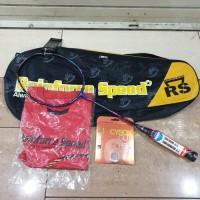 Raket badminton RS speed core e blue original