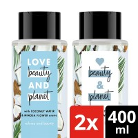 Love Beauty and Planet Coconut Water Shampoo Conditioner 400Ml