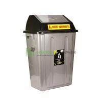 Tempat sampah besar tutup 100 lt I Tong sampah Jumbo (khusus GOJEK)