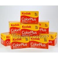 Kodak Color Plus 36 200 ColorPlus Roll Film 35mm Kamera Analog Baru
