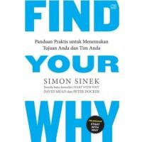 Buku Find Your Why   Simon Sinex (Pengembangan Diri) (Best Seller)