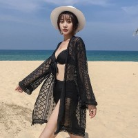 SUNFLOWER Outer Beach Top Kimono Bikini Outer Cover Up Baju Renang BL