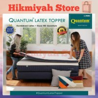 Quantum Latex Topper Mattress 100x200 cm | Kasur Lantai - Spring Bed
