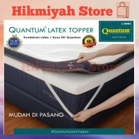 Quantum Latex Topper Mattress 160x200 cm | Kasur Lantai - Spring Bed