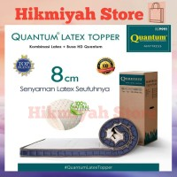 Quantum Latex Topper Mattress 200x200 cm | Kasur Lantai - Spring Bed