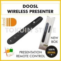 Doosl Wireless Presenter Remote USB Laser Pointer Alat Presentasi PPT