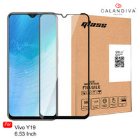 ONE-X Vivo Y19 (6.53 inches) Full Cover Tempered Glass - Black