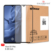 ONE-X Vivo S1 Pro (6.38 inches) Full Cover Tempered Glass - Black