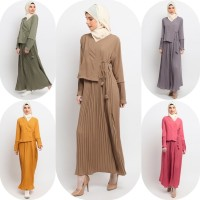 Gamis Muslim Wanita Le Najwa Arum Dress