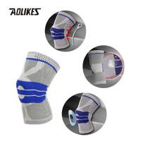Aolikes 7721 Knee Sleeve Compression Knee Pad Pelindung Lutut
