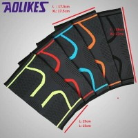 Aolikes Lutut Knee Pad Support Brace Nylon Running Fitness Cycling