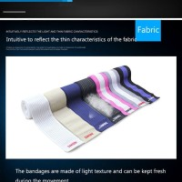 Aolikes 180 CM Elastis Knee Support bandage Leg pad Pelindung