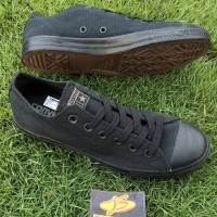 sepatu casual sneaker converse ct ox black original bnib