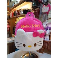 tas ransel karakter anak SANRIO hello kitty, melody p22cm t25cm - PINK PUTIH