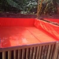 Terpal Kolam 4x2x1 Meter, Buat Budidaya Ikan Lele Belut Patin Dll A12