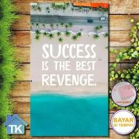 Hiasan Dinding Success Is The Bes / Dekorasi Rumah / Hiasan Kamar Cafe