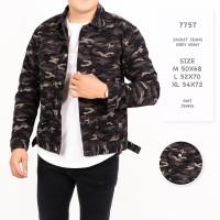 Jaket Jeans Pria Premium Quality / Jaket Army