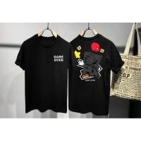 Kaos Distro Pria Mario Berantakan DB Atasan Pria T-shirt Pria
