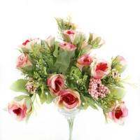 Bunga Mawar Foam Palsu Artificial Bunga Hias Plastik Setangkai - AF19